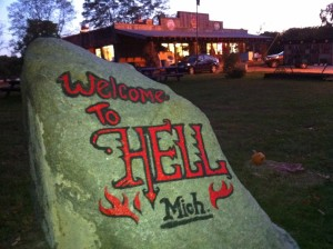 Hell, Michigan USA